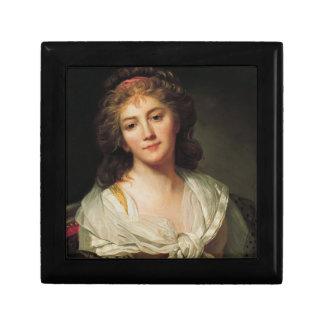 Marie-Geneviève Bouliard, Selbstporträt Geschenkbox