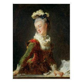 Marie-Madeleine Guimard Postkarte