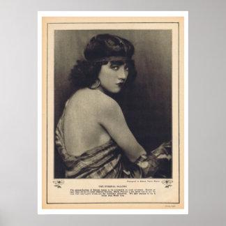 Marie Prevost stiller Schirmstern Poster