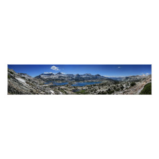 Marie See-Panorama von oben genanntem - John Poster