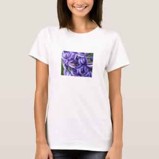 Marienkäfer auf Hyazinthe T-Shirt