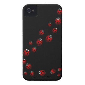 Marienkäfer-BlackBerry-Kasten-Dame Bird Smartphone Case-Mate iPhone 4 Hülle
