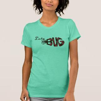 Marienkäfer-Damen-Shirt T-Shirt