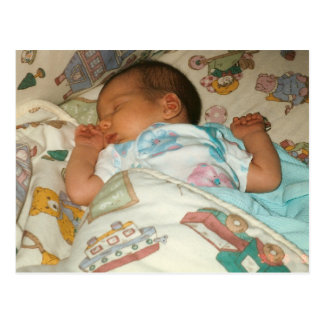 Marienkäfer-Foto-Geburtsmitteilung Postkarten