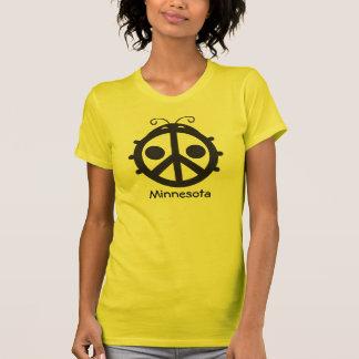 Marienkäfer-Friedenszeichen - Minnesota T-Shirt