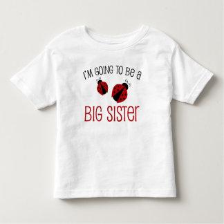 Marienkäfer-große Schwester zum zu sein Shirts