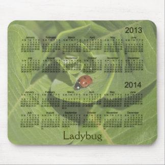 Marienkäfer-Kalender 2013-2014 Mousepad