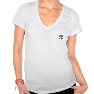 Marienkäfer-Kleeblatt-T-Stück Hemden