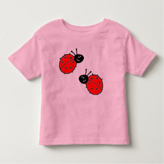 Marienkäfer-Kleinkind-T-Stück Kleinkinder T-shirt