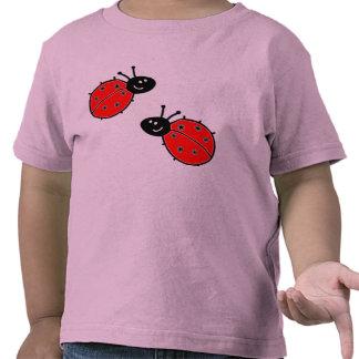 Marienkäfer-Kleinkind-T-Stück Tshirts