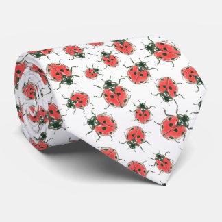 Marienkäfer Krawatte