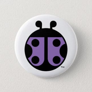 Marienkäfer-Kreis-Button des Bündnis-PCDH19 Runder Button 5,1 Cm