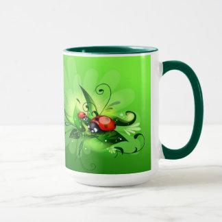 Marienkäfer-Marienkäfer-Tasse Tasse