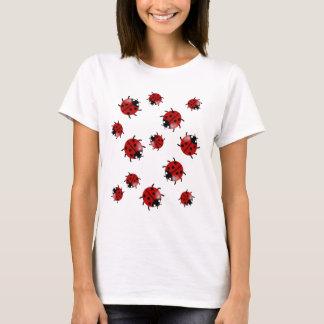Marienkäfer, Marienkäferkaskade T-Shirt