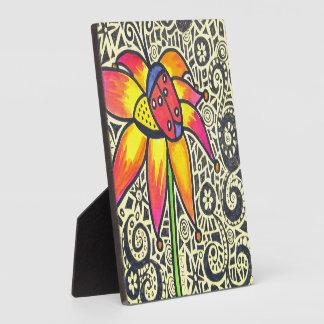 Marienkäfer-Mosaik-Malerei-Zeichnen Fotoplatte