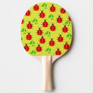 Marienkäfer-Muster Tischtennis Schläger
