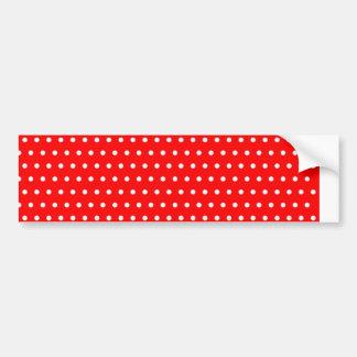 marienkäfer polka dots baby rot red tupfen gepunkt autoaufkleber
