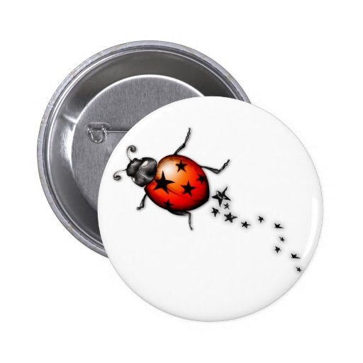 Marienkäfer Rockstar Buttons