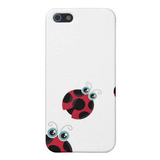 Marienkäfer Speck-Kasten iPhone 5 Schutzhülle