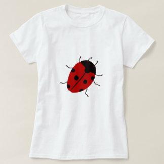 Marienkäfer-Spitzen T-Shirt