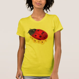 Marienkäfer und Gänseblümchen T-Shirt