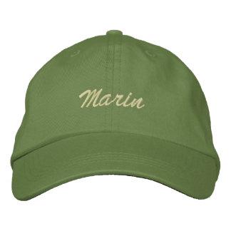 Marin Bestickte Baseballkappe