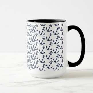 Marine-Anker-Silhouette-Tasse Tasse