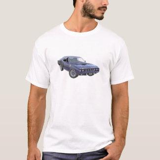 Marine-Blau-Muskel-Auto 1971 T-Shirt