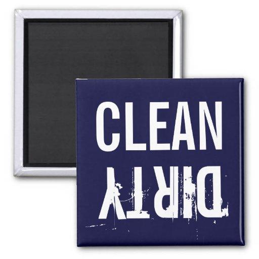 Marine-Blau-sauberer schmutziger Spülmaschinen-Küc Magnets