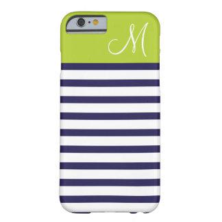 Marine-Blau u. grünes adrettes Barely There iPhone 6 Hülle