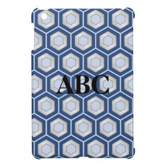 Marine-Blau und Silber deckten Hexe MiniiPad Hüllen Für iPad Mini