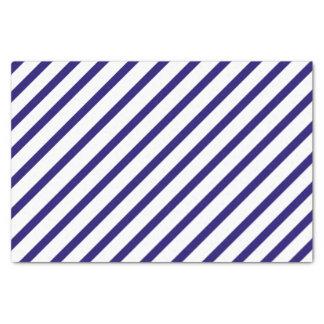 Marine-blauer Streifen-Seidenpapier Seidenpapier