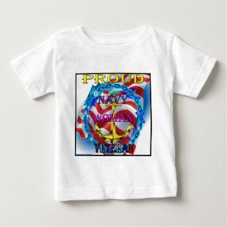 Marine-Frauen-Veteran Baby T-shirt