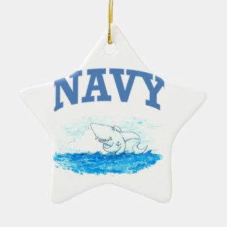 Marine-Haifisch Keramik Ornament