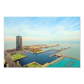 Marine-Pier Chicago Fotodruck