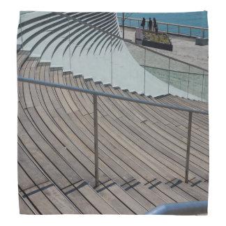 Marine-Pier-Treppe Kopftuch