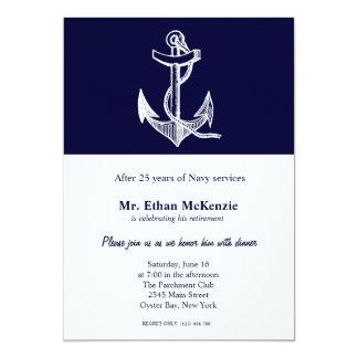 Marine-Ruhestand Karte