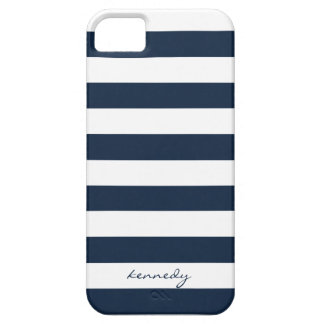 Marine Stripes Muster personalisierten iPhone 5s iPhone 5 Cover