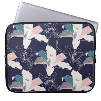 Marine-tropische Laptop-Hülse Laptopschutzhülle