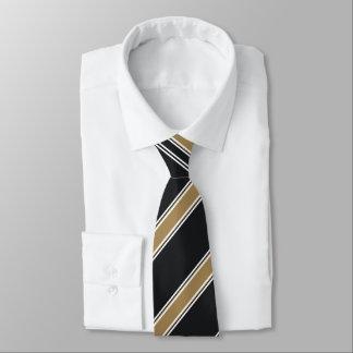 Marine-und Goldc$diagonal-gestreifte Krawatte