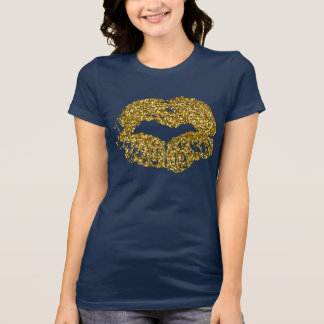 Marine-und T-Shirt