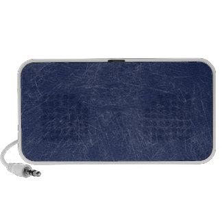 Marineblau Retro Schmutz verkratzte Beschaffenheit iPod Lautsprecher