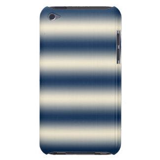 Marineblau zur sandigen gelben Steigung iPod Touch Hülle