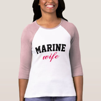 MarineEhefrau T-Shirt
