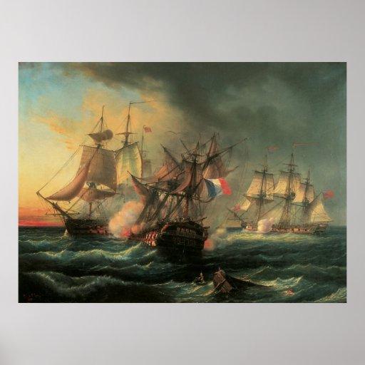 Marinekampf - Rechte des Mannes und unermüdliches Plakat