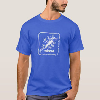 Marinelebens-Gesellschaft des T-Shirt