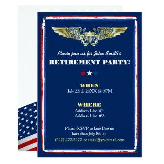 Marineluftwaffen-Ruhestands-Party Einladungen