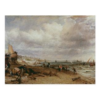 Marineparade und alter Kettenpier, 1827 Postkarte