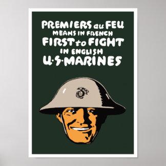 Marinesoldaten -- Zuerst kämpfen Poster