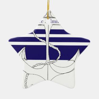 MarinevizeAdmiral, tony fernandes Keramik Ornament